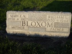 Mary Elizabeth Naomi <I>Dryden</I> Bloxom