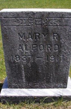 Mary R <I>Lett</I> Alford