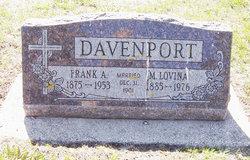 Mary Lovina <I>Fessler</I> Davenport