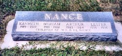 Kenneth F Nance