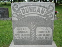 Bettie <I>Bailey</I> Duncan