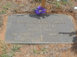 Walter Lee Cross