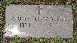 Alonia <I>Heintz</I> Burns