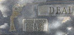 """Mary Louise """"Mattie"""" <I>Rorick</I> Deal"""