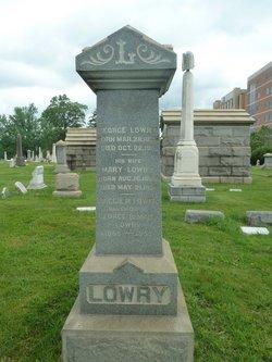 Mary <I>Phillips</I> Lowry