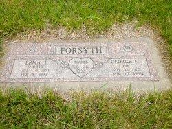 "Erma Irene ""Shorty"" <I>Biesecker</I> Forsyth"
