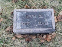 Ruby M <I>Ruckdachel</I> Genske