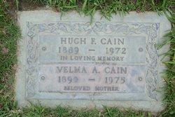 Velma Anna <I>Shaw</I> Cain