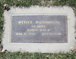 Wesley Jennings Williamson