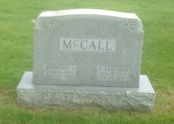 R. Preston McCall