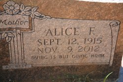 Alice Frances <I>Kelley</I> Sprouse