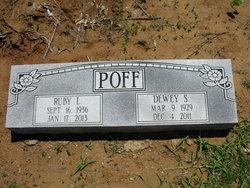 Ruby Louise <I>Palmer</I> Poff