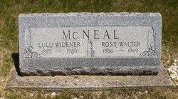 Lulu <I>Widner</I> McNeal