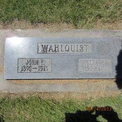 John Ephraim Wahlquist