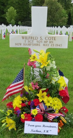 TSgt Wilfred S Cote