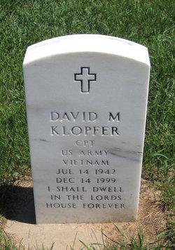 David M Klopfer