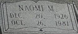 Naomi M. Bacon