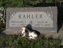 Ella Marie <I>Engelhart</I> Kahler