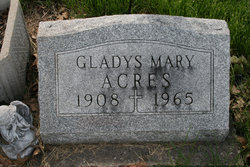 Gladys Mary Acres