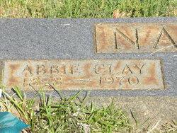 Abbie <I>Clay</I> Nance