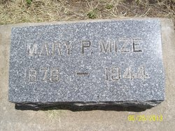 Mary Paralee <I>Kitts</I> Mize