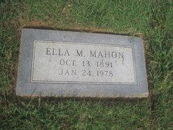 Ella M. Mahon