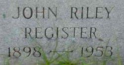 John Riley Register