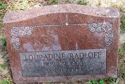Louradine <I>Snow</I> Radloff