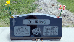 Elva Edna <I>Ratzlaff</I> Quiring