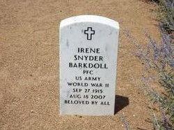 Irene <I>Snyder</I> Barkdoll