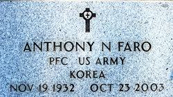 "Anthony Nicholas ""Tony"" Faro"
