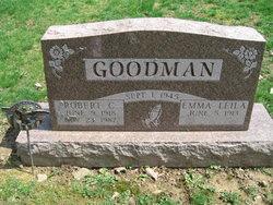 """Emma Leila """"Leila"""" <I>Bricker</I> Goodman"""