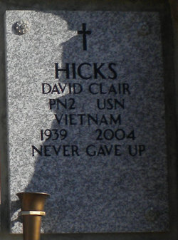 David Clair Hicks