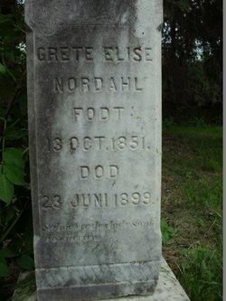 Grete Elise <I>Flogstad</I> Nordahl