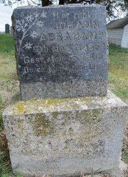 Johann Abrahams