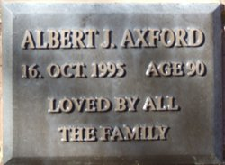 Albert John Axford