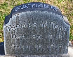 Thomas McMaster Toal