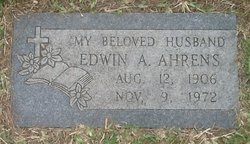 Edwin A. Ahrens