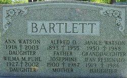 Alfred O Bartlett