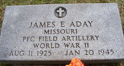 PFC James Edward Aday