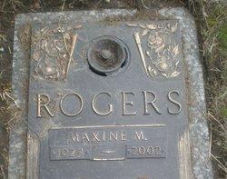 Marjorie Maxine <I>Woodall</I> Rogers