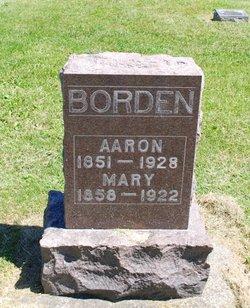 Mary Anna <I>Cayton</I> Borden