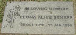 Leona Alice <I>Allen</I> Schaff