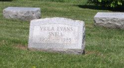 Viola <I>Evans</I> Snell