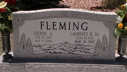 Esther Alma <I>Rogers</I> Fleming