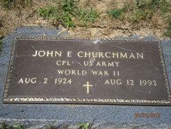 John Edward Churchman, Jr