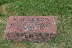 Frederick Joseph Adams