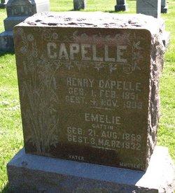 Emelie <I>Heise</I> Capelle