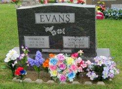 "Winona P. ""Nonie"" <I>Grooms</I> Evans"