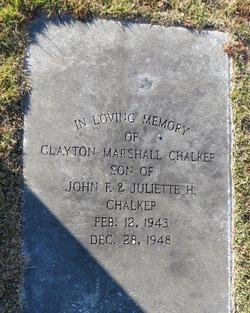 Clayton Marshall Chalker